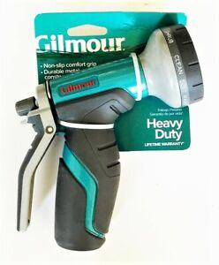 Gilmour Heavy Duty Rear Trigger Garden Hose Spray Nozzle 8 Pattern 841052-1001