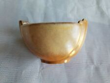 Frankoma Art Deco Pottery Vintage Vase Bowl Rare Brown John Frank Oklahoma SHARP