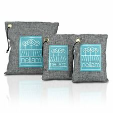 Bamboo Activated Charcoal Odor Absorber, Eliminator, Air Purifier & Freshener