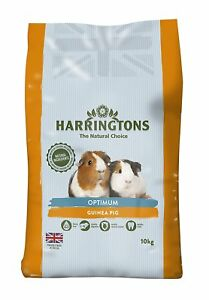 Harringtons Optimum Guinea Pig Sack with Added Vitamin C Free P&P 10 kg Bag NEW