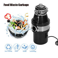 1HP Electric Kitchen Sink Food Waste Strong Disposal Household Disposer Machine