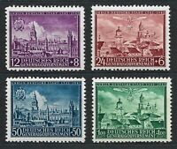 DR Nazi WWII Germany Rare WW2 MNH Stamps Hitler Swastika Eagle over Lublin GG Oc