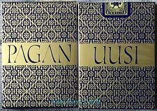 1 Deck UUSI Blue Pagan Playing Cards~Limited Edition Poker~Free Shipping