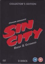 Sin City (DVD, Steelbook 2-Disc Set Edition) A Great Action Thriller