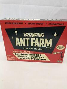 Original Uncle Milton's Fascinating Ant Farm Live Ant Habitat