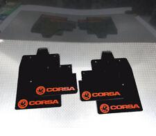 rallye-schmutzfänger passend für Opel Corsa C (00-07) Schmutzfänger schwarz Logo