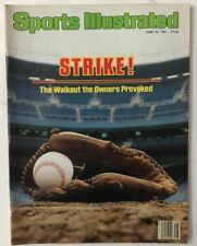 June 22, 1981 Sports Illustrated Magazine  -  NO LABEL