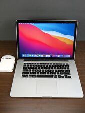"""Apple 2015 MacBook Pro 15"""" Retina / 2.2Ghz i7 / 16GB RAM / 256GB SSD + Warranty"""