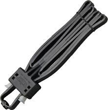 Uzi Black Disposable Flex Cuffs 12 Wide Heavy Duty Composition Flxcb