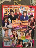 Bop Magazine - - Justin Bieber,Ariana, Selena,Taylor November 2012 NEW