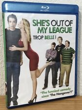 SHE'S OUT OF MY LEAGUE (Blu-Ray, 2010) CANADIAN ENGLISH/FRENCH - FLAWLESS!