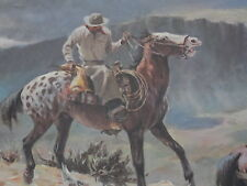 APPALOOSA 22 x 18.5 Edition of 900 S/N by Western Artist Olaf Wieghorst