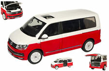 Vokswagen VW T6 Multivan Red / White 1:18 Model NZG