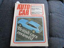 Autocar Magazine - 27th April 1972