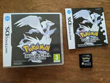 Nintendo DS Pokemon Black with box, manual & game, All proceeds to Alzheimer's
