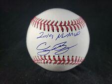 "Cody Bellinger Signed Autographed Baseball ""19 NL MVP"" Fanatics MLB COA"