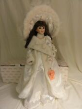 Show Stoppers Porcelain Bethany Doll New In Box with tags stand and certificate