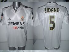 Real Madrid ZIDANE Adidas Adult Large France Shirt Jersey Football Soccer Trikot