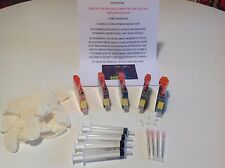 5 CARTUCCE RICARICABILI COMPATIBILI 364 CON CHIP PER HP PHOTOSMART B110A