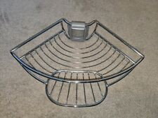 Simplehuman Tension Shower Caddy - Soap Dish Basket and Mounting Tab
