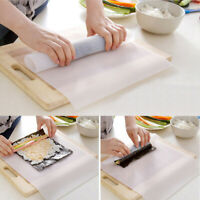 Silicone Sushi Mat Japanese Rice Roller Maker Rolling Mold Tools for Kitchen