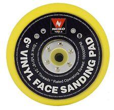 NEIKO 30262A - 6 Inch PSA Vinyl Sanding Pad flexible but firm Power Tools