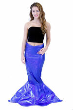 Magical Mermaid Sparkle Tail DELUXE Costume Women's Halloween (L/XL)