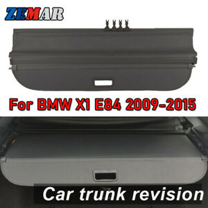 Car Rear Trunk Cargo Cover For BMW X1 E84 2006-2015 Security Shield Accessories