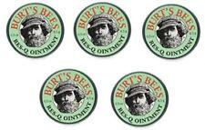 Burt's Bees 100% Natural Res-Q Ointment 0.6 oz Tin,  (5-Pack) BO17