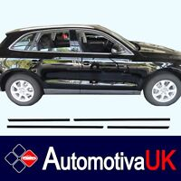 Audi Q5 5D Rubbing Strips | Door Protectors | Side Protection Mouldings Body Kit