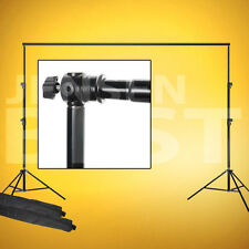 Background Support System With 12' Crossbar For Photography And Video Production