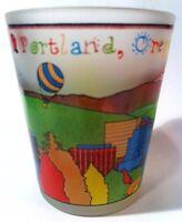 PORTLAND OREGON CHILDREN'S SKYLINE SHOT GLASS SHOTGLASS