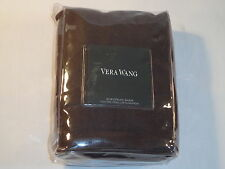 Vera Wang Euro Pillow Sham - Ribbon Stripe Mocha