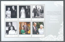 Jersey-Queen Elizabeth II Platinum Wedding Anniv November 2017-Royalty-min sheet