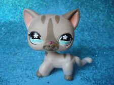 ORIGINAL Littlest Pet Shop  Short Hair Cat  #468 Shipping with Polish
