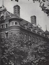 Scotland Yard. E.O. HOPPÉ. London 1930 old vintage print picture