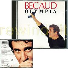 "GILBERT BECAUD ""OLYMPIA"" RARO CD 1991"