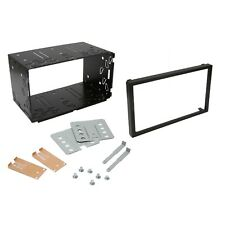 Universal Double DIN Car Stereo Radio Headunit 103mm Fitting Cage Mounting Kit