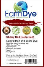 Natural Deep Red Hair Dye