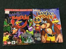 Banjo Kazooie & Tooie Nintendo 64 Prima's Official Strategy / Player's Guide