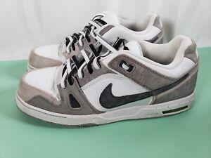 Nike Zoom  366630-013, Men's Skateboarding Shoes, Gray/White Size 12, Used Rare