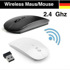 Wireless USB Maus PC Kabellose Mouse Computer Laptop Notebook Funkmaus flach