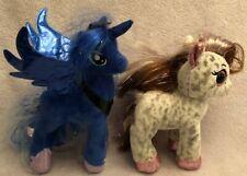 TY Sparkle My Little Pony Princess Luna Unicorn Soft Plush Toy & TY Cinnamon