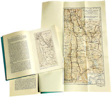 1923 Gregory - TIBET YUNNAN MOUNTAIN EXPEDITION - With Large Color Map - 03-09