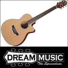 Crafter TRV 23 Traveller Cedar Top Cutaway Acoustic Natural Satin +Bag RRP$599
