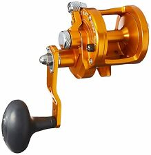 Avet SX5.3 Lever Drag Conventional Reel, ORANGE