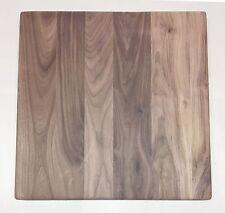 "Solid Wood Heavy Thick Cutting Board Butcher Block Blank 24"" x 24"" - Walnut"