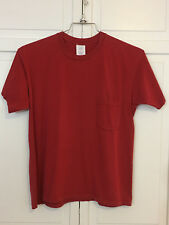 Gap - USA made Cotton Short Sleeve T-shirt - M's Med - Red - EUC