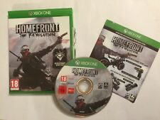 XBOX ONE GAME HOMEFRONT THE REVOLUTION +BOX DISC IS IN VGC