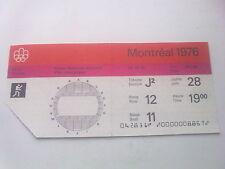 Billet Jeux Olympiques Montréal 28.07.1976 - boxe (19:00)